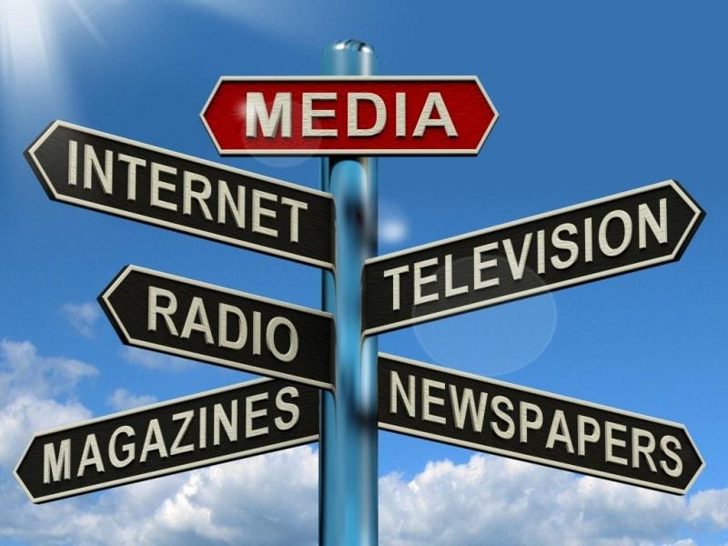 các loại phương tiện truyền thông