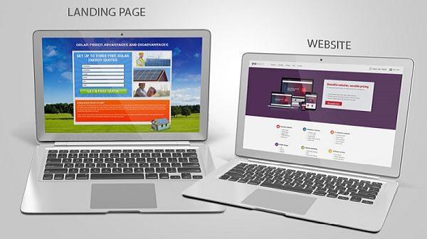 Home page và Landing page là gì?